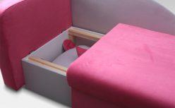 Kanapa dziecięca łóżko OLAF 8