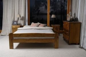 Łóżko BIG dąb 1