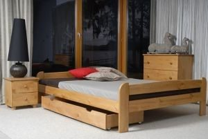 Łóżko BIG olcha 3