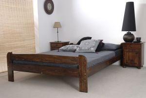 Łóżko BIG orzech 1