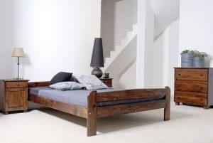 Łóżko BIG orzech 2
