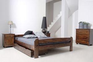 Łóżko BIG orzech 3