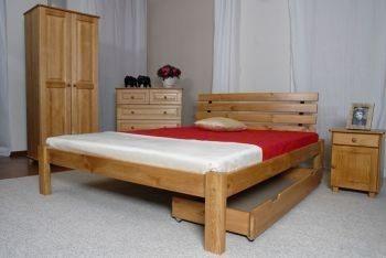 Łóżko DORIS olcha 2 meblearkadius