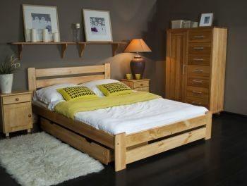 Łóżko DOTIS olcha 2 meblearkadius