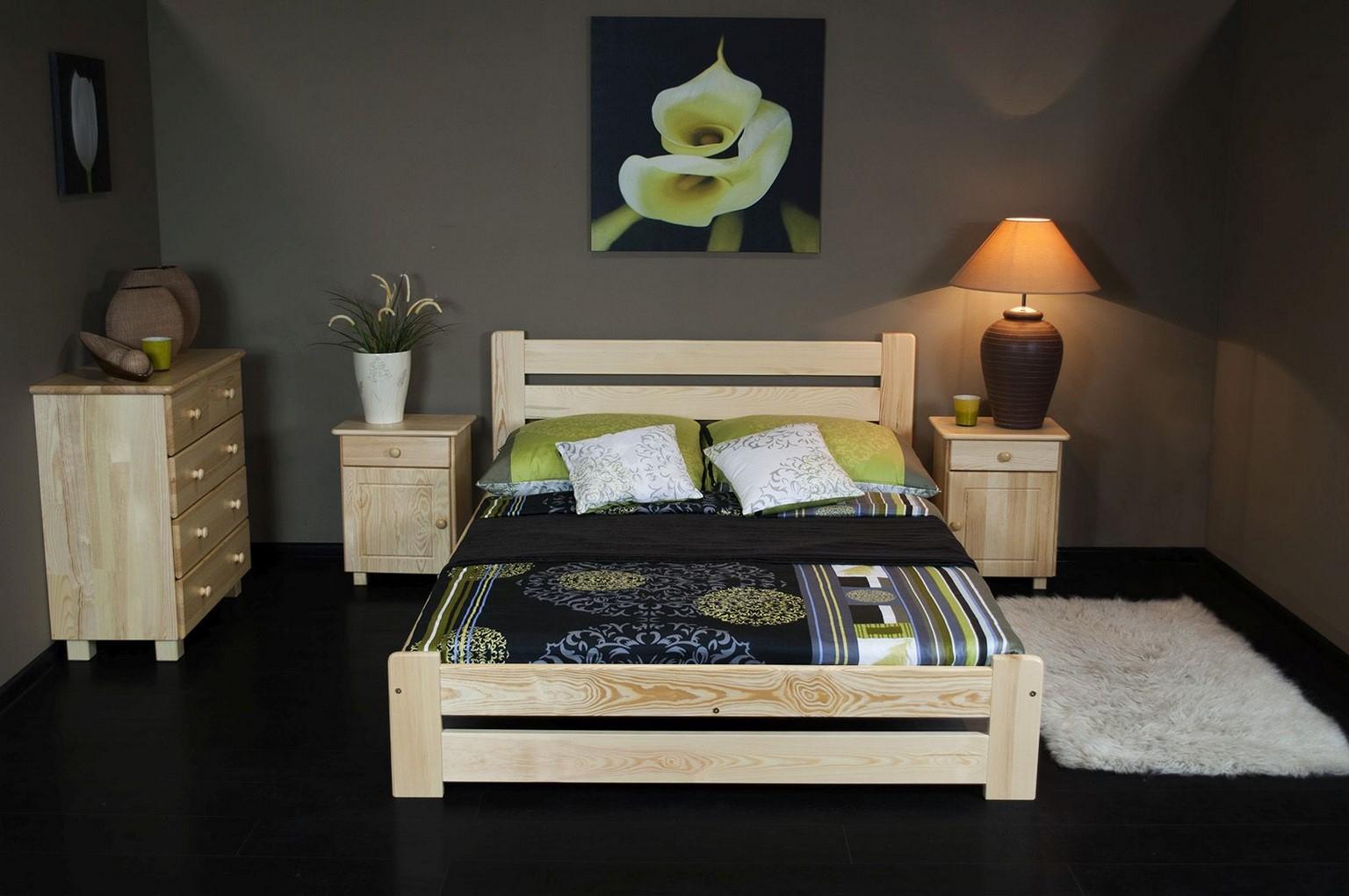Łóżko DOTIS 145 x 205 kolor sosna 5