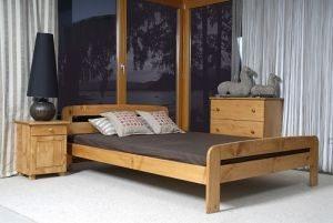 Łóżko ELMIRA olcha 2