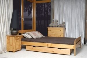 Łóżko ELMIRA olcha 3 meblearkadius