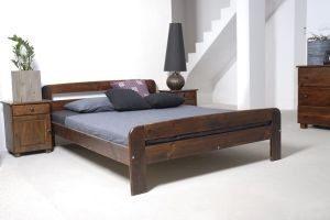 Łóżko ELMIRA orzech 1 meblearkadius