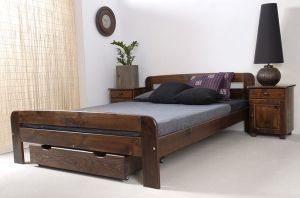 Łóżko ELMIRA orzech 2 meblearkadius