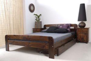 Łóżko ELMIRA orzech 3 meblearkadius