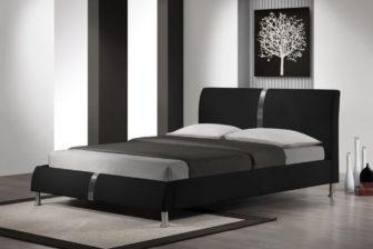 DAKOTA 160 - łóżko tapicerowane czarne 6