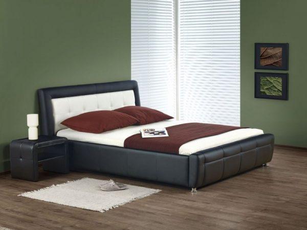 SAMANTA 160 - łóżko tapicerowane z zagłówkiem różne kolory 1