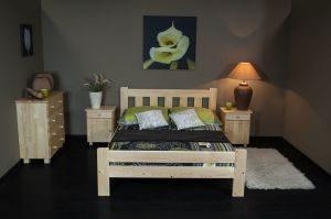 Łóżko ALMA 120 sosna 3 meblearkadius