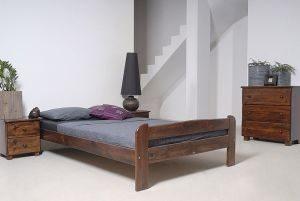 Łóżko BIG 120 orzech 1 meblearkadius