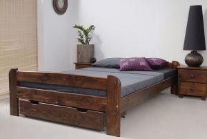 Łóżko BIG 120 orzech 2 meblearkadius