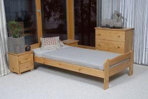 Łóżko BIG 90 olcha 3 Meble Arkadius