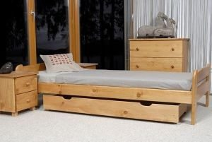 Łóżko BIG 90 olcha 4 Meble Arkadius