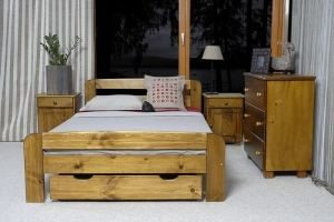Łóżko ELMIRA 120 dąb 1 meblearkadius