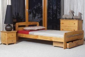 Łóżko ELMIRA 120 olcha 2 meblearkadius