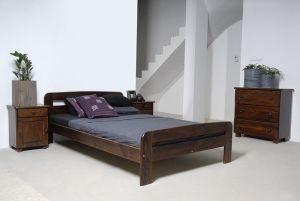 Łóżko ELMIRA 120 orzech 2 meblearkadius