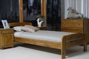 Łóżko ELMIRA 90 dąb 2 Meble Arkadius