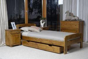 Łóżko ELMIRA 90 dąb 3 Meble Arkadius