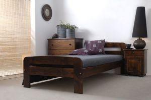 Łóżko ELMIRA 90 orzech 1 Meble Arkadius