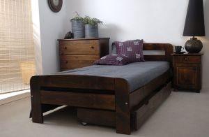 Łóżko ELMIRA 90 orzech 2 Meble Arkadius