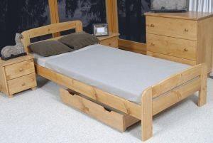 Łóżko ELMIRA olcha 3 Meble Arkadius