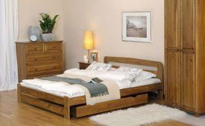 Łóżko ERNA 1 dąb meblearkadius