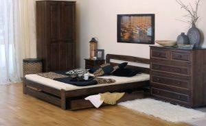 Łóżko ERNA 1 orzech meblearkadius