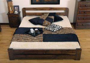 Łóżko ERNA 3 orzech meblearkadius