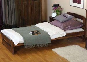 Łóżko ERNA 90 orzech 1 meble arkadius
