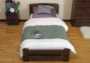 Łóżko ERNA 90 orzech 3 meble arkadius