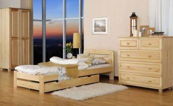 Łóżko ERNA 90 sosna 1 meble arkadius