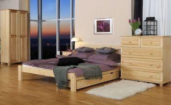 Łóżko FLORA 1 sosna meblearkadius