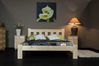 Łóżko KAŚ 145 x 205 kolor sosna 6