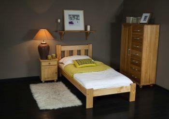 Łóżko KAŚ olcha 2 Meble Arkadius