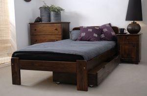 Łóżko KRYSPINA 90 orzech 2 meblearkadius — kopia