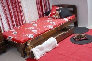 Łóżko KRYSPINA 90 orzech 3 meblearkadius — kopia
