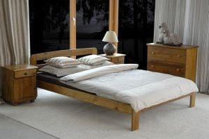 Łóżko KRYSPINA dąb 1 meblearkadius