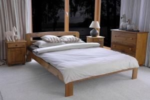 Łóżko KRYSPINA dąb 2 meblearkadius