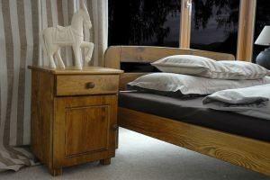 Łóżko KRYSPINA dąb 3 meblearkadius