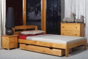 Łóżko KRYSPINA olcha 1 meblearkadius