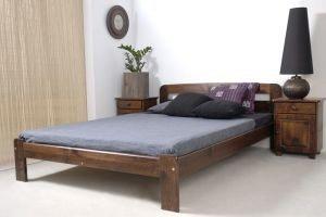 Łóżko KRYSPINA orzech 1 meblearkadius