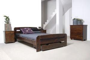 Łóżko KRYSPINA orzech 2 meblearkadius