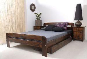 Łóżko KRYSPINA orzech 3 meblearkadius