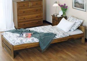Łóżko LOOK 90 dąb 2 Meble Arkadius