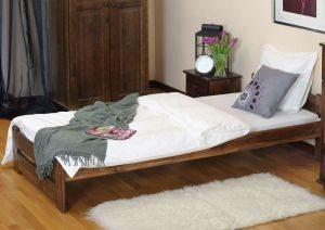 Łóżko LOOK 90 rzech 2 Meble Arkadius