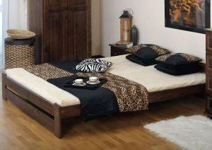 Łóżko LOOK orzech 1 meblearkadius